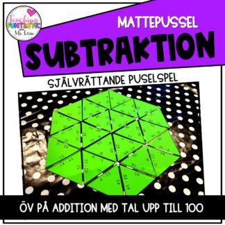 Mattepussel subtraktion