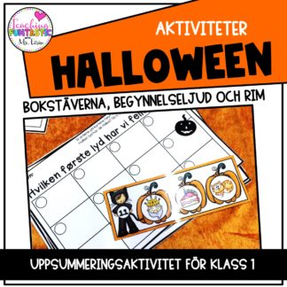 Uppgifter Halloween