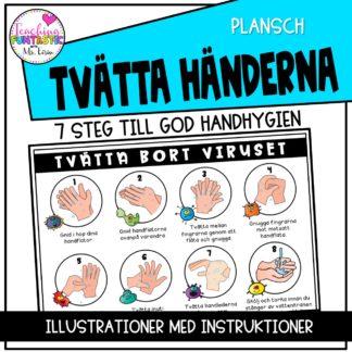Handhygien Plansch