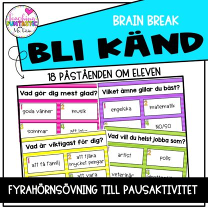 Brain Break Bli Känd