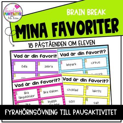 Brain Break Favoriter