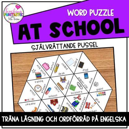 Pussel engelska school