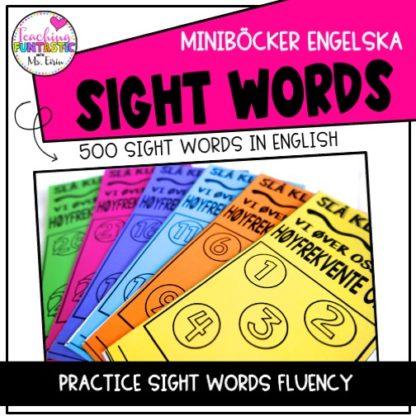 engelska högfrekventa ord