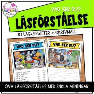 Läsförståelse svenska