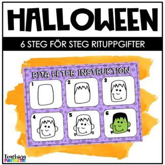 rituppgift halloween