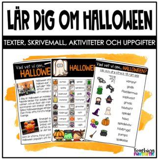 Lär dig om Halloween